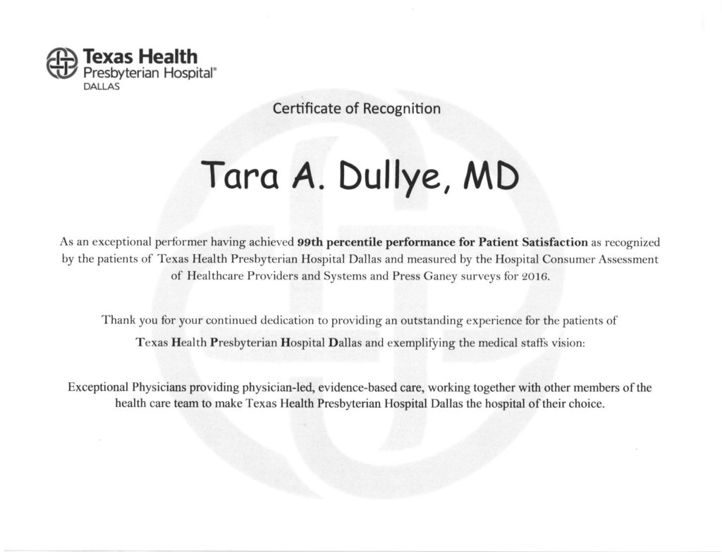 Dr tara dullye dallas texas obgyn privia dr dullye went to the university of texas health science center in san antonio tx and completed her post doctoral residency training at the parkland xflitez Choice Image